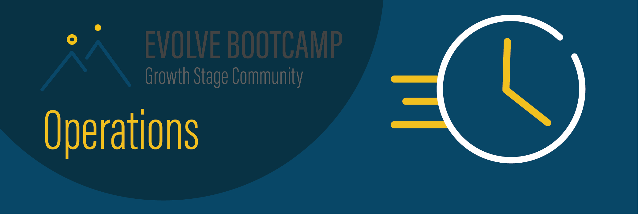 Evolve Bootcamp Operations